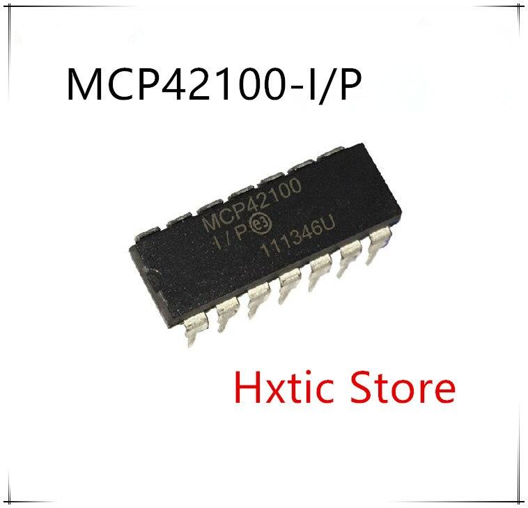 Nuevo 5 unids/lote MCP42100-I/P MCP42100 MCP42100-I DIP-14 IC
