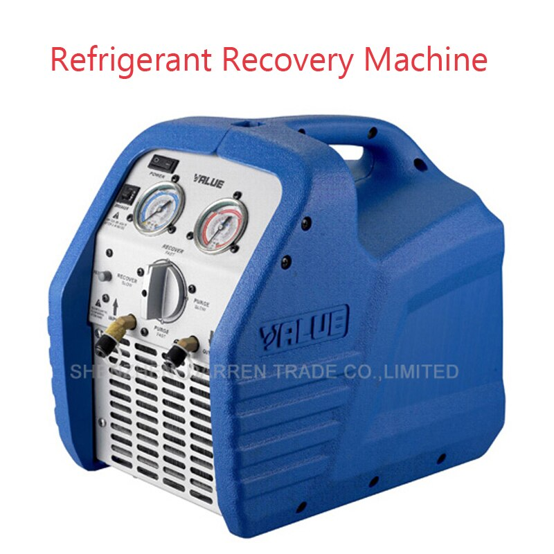 Máquina de recuperación de refrigerante portátil, Mini unidades de recuperación de refrigeración VRR12L compatible con AC 220V