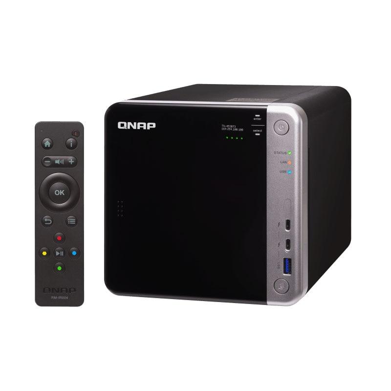 QNAP TS-453BT3 4-bay бесдисковый nas, nas сервер nfs Сетевое хранилище Облачное хранилище, память 8G, Thunderbolt 3 + 10GbE NAS