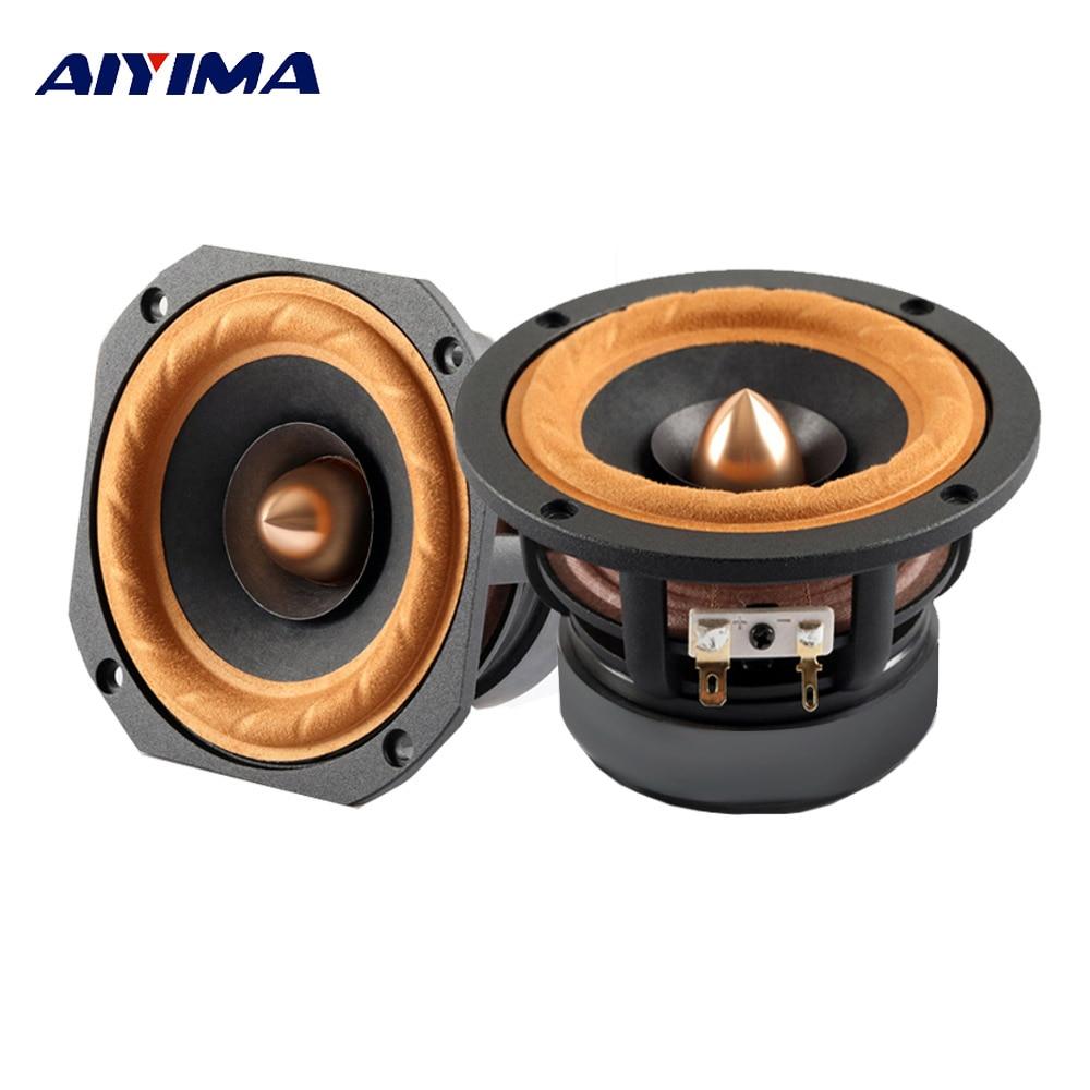 AIYIMA-Altavoz portátil de gama completa para cine en casa, columna de Altavoz...