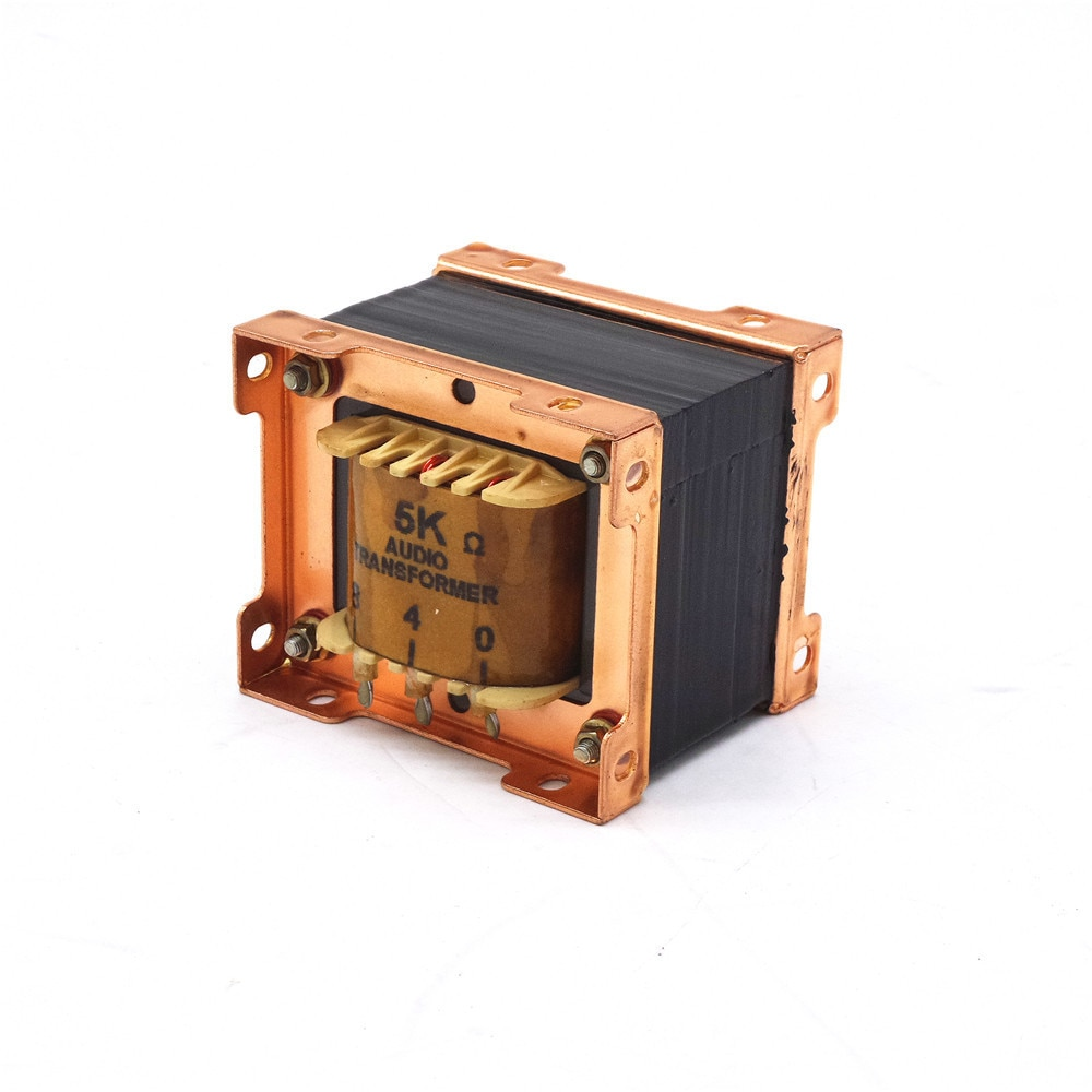 10w de un solo extremo 6p14 el34 el84 6p3p, KT88) Transformadores de audio de salida de amplificador de tubo 3,5 k/5 K de salida de 0-4-8 Ohm 1 Uds