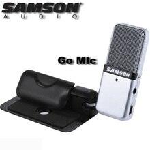 Samson gitmek Mic taşınabilir USB kondenser mikrofon tak ve çalıştır uyumlu ile Mac veya PC kayıt müzik Podcasting