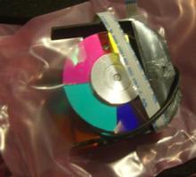Para benq MP522ST proyector rueda de color con carcasa
