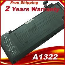 Batterie dordinateur portable A1322 Pour APPLE MacBook Pro 13