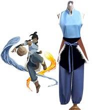 Costume de Cosplay Avatar Korra fait sur commande nimporte quelle taille