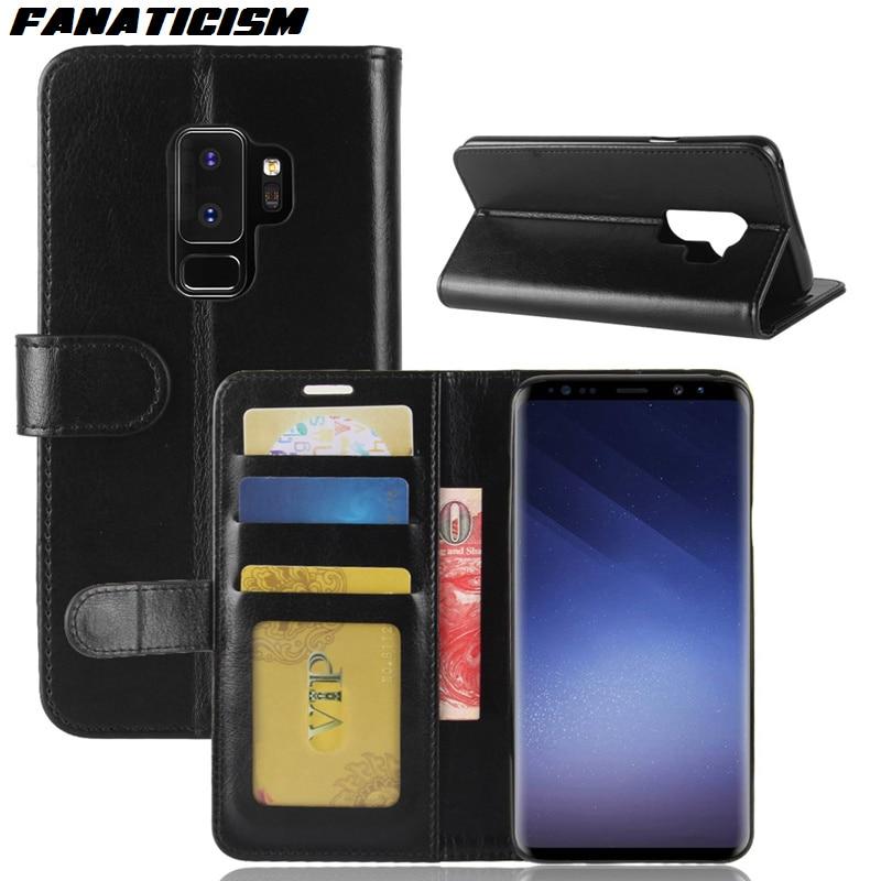 200 قطعة محفظة جلدية عالية الجودة الحال بالنسبة آيفون XS XR سامسونج S10 S10e S9 S8 A6 A8 A9 J4 J6 زائد نوت 9 8 غطاء الهاتف