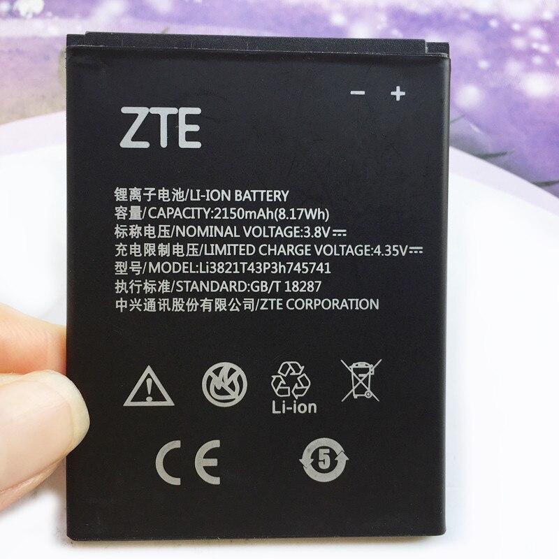 Original nuevo 2150mAh Li3821T43P3h745741 batería para teléfono ZTE Blade L5 L 5 PLUS C370 T520 SS hoja L0510 baterías