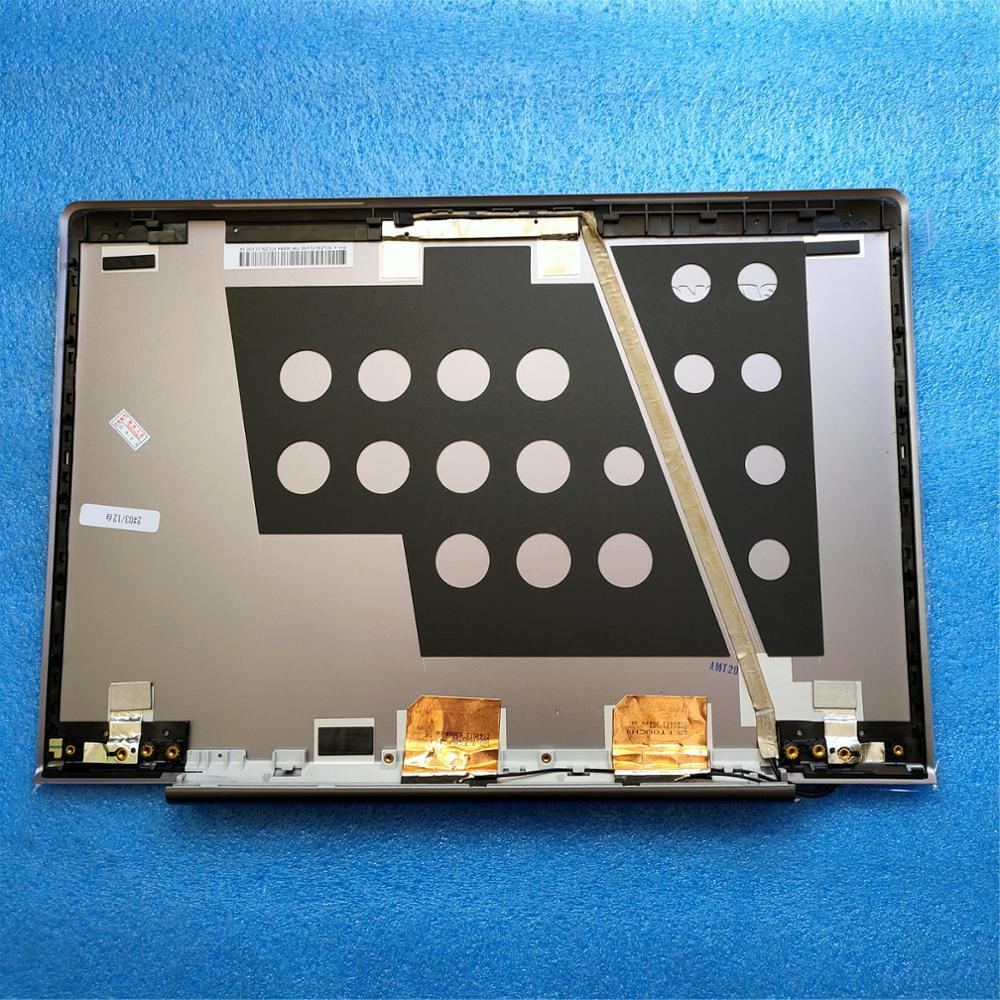 Org novo Para Lenovo Ideapad U330T U330 U330P 3CLZ5LCLV30 TouchScreen Cinza LCD Back Cover Tampa 90203271