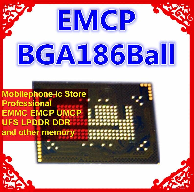 H9TP26A8JDAC H9TP26A8JDACNR-KGM BGA186Ball EMCP 32 + 8 32GB memoria móvil nuevas bolas soldadas originales y usadas probadas OK