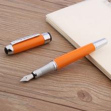 Jinhao 250 silber klassische büro metall orange geschenk M brunnen stift