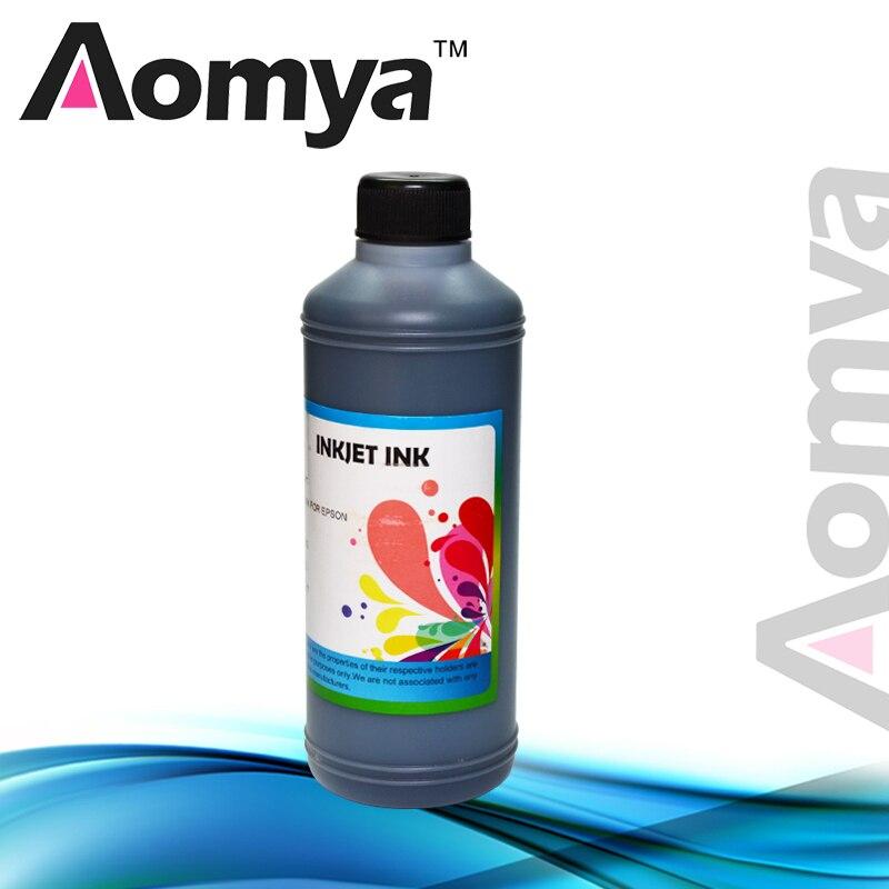 Tinta de tinte a base de agua de COLOR negro de 1 litro para impresora Epson L100/L110/L200/L800 (tinta a granel) 1000ml/botella