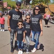 Kalebas Pop Familie Bijpassende Outfits Mama Papa Kid Zoon Baby T-shirt Shirts Familie Kleding Kind T-shirt Brief Afdrukken Tops