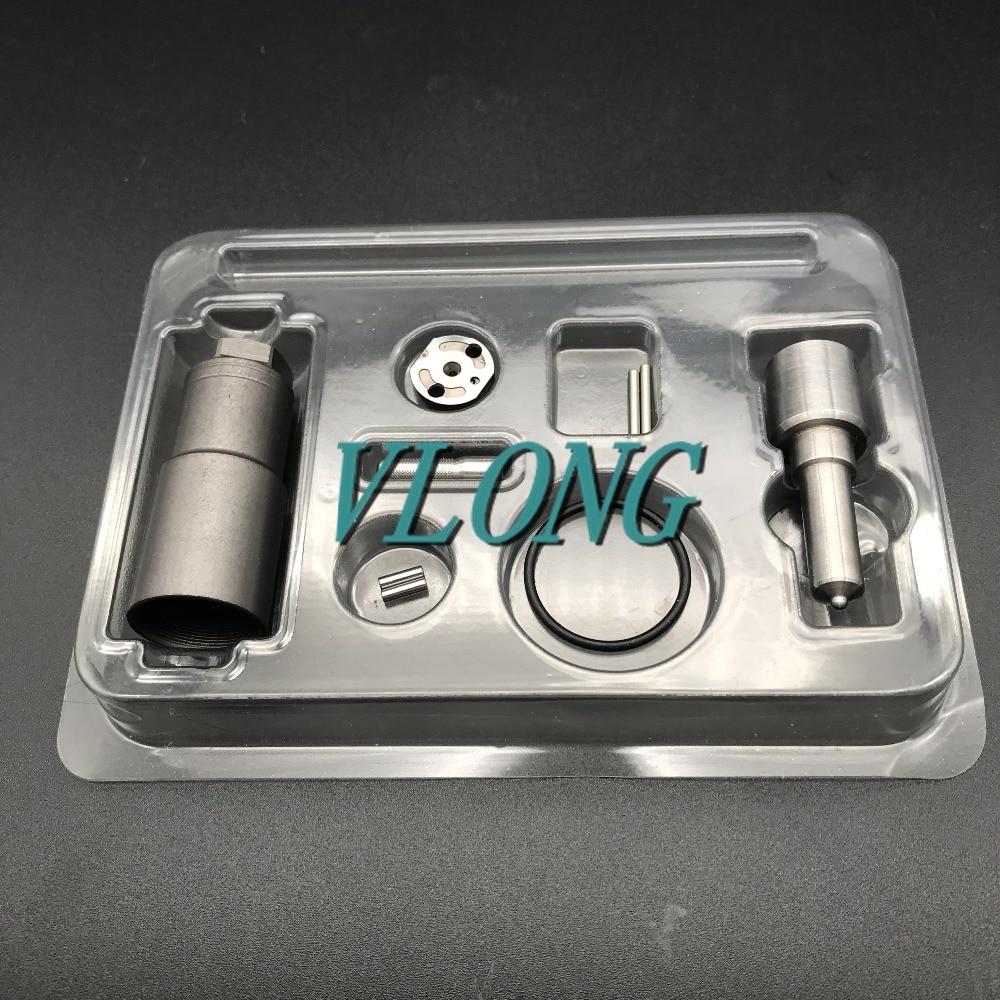 Kit de reparación de inyector de combustible diésel 095000-5550 boquilla DLLA150P866 válvula 04 # placa, pin, anillo de sello para HYUNDAI HD78W