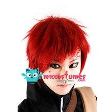 Perruque synthétique Naruto Shippuuden Gaara Cosplay perruque