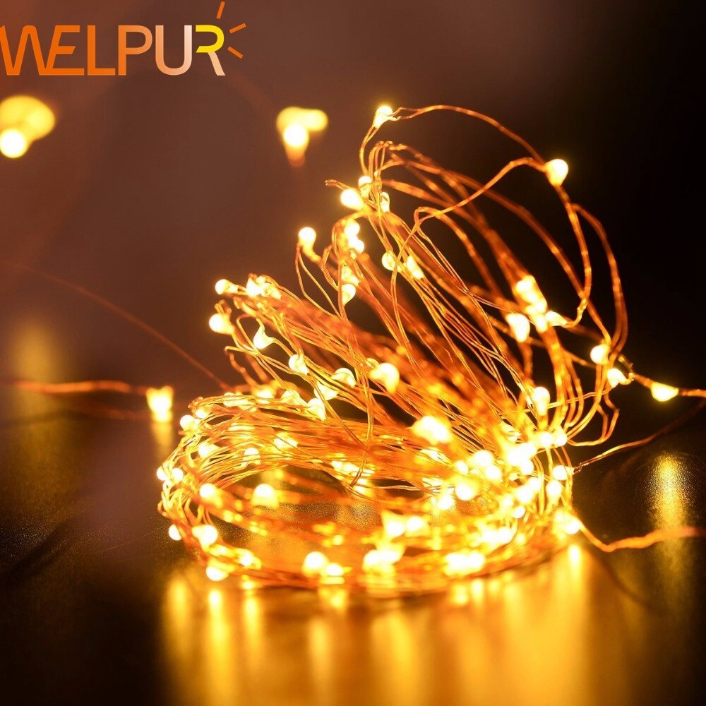 holiday lighting 5m 50led string light copper silver wire battery fairy christmas garland wedding party decoration outdoor Holiday lighting 5m 50led String light  Copper Silver Wire Battery Fairy Christmas Garland Wedding Party Decoration Outdoor
