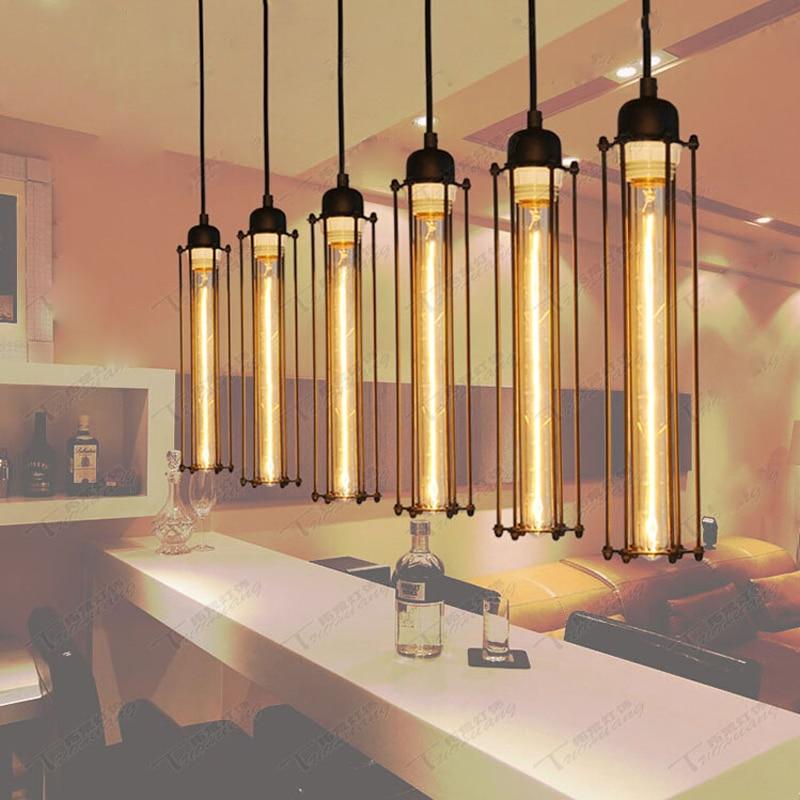 Vintage Pendant Light Industrial Style Single Head flute Lights Restaurant Lamps Dining Room Loft Coffee Bar Kitchen Lighting