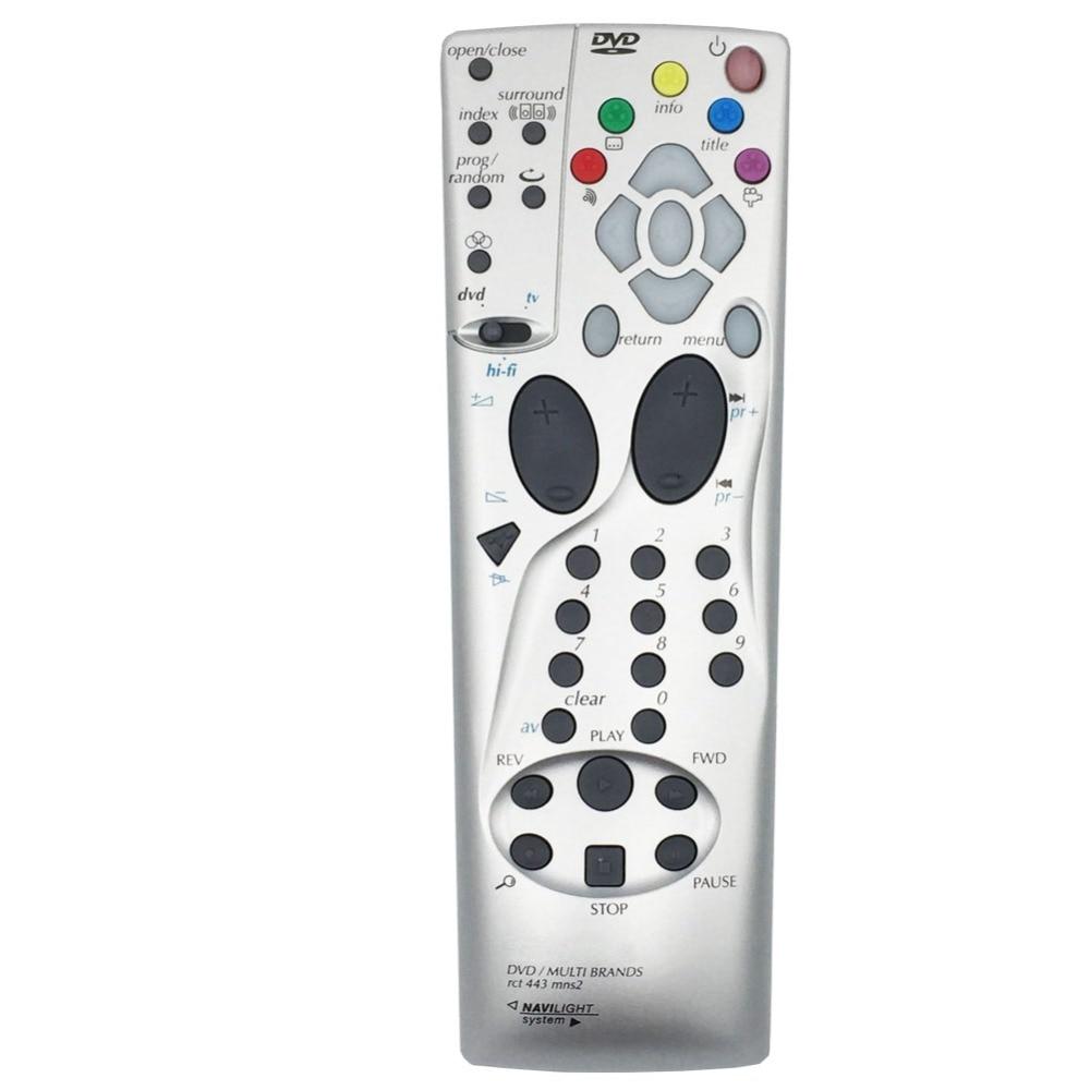 Пульт дистанционного управления для Thomson DVD/multibrands RCT443MN RCT443MNS2 RCT 443 MNS2 NAVILIGHT System 443MNS2