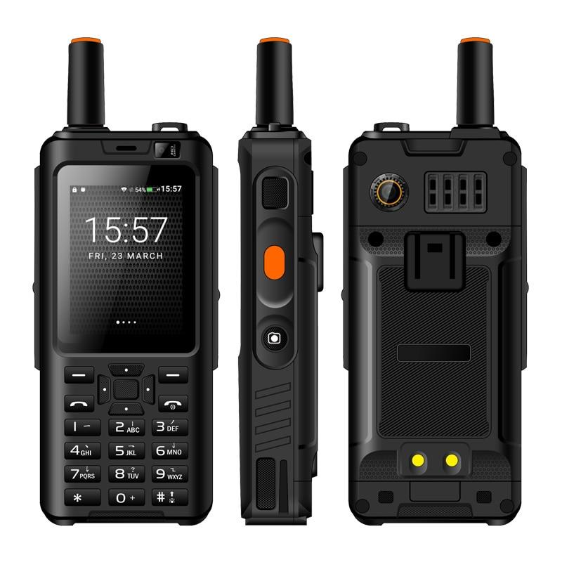IP65 Walkie Talkie Handy Wasserdicht stoßfest Zello Robuste Smartphone MTK6737M Quad Core Android Tastatur Funktion Telefon