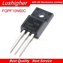 10 шт. FQPF10N60C TO-220 10N60 TO220 10N60C 10A 600 в MOSFET n-канальный