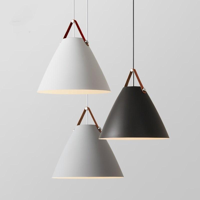 مصباح معلق من الحديد على الطراز الاسكندنافي ، تصميم حديث ، إضاءة زخرفية داخلية ، مثالي للمطبخ أو غرفة الطعام.