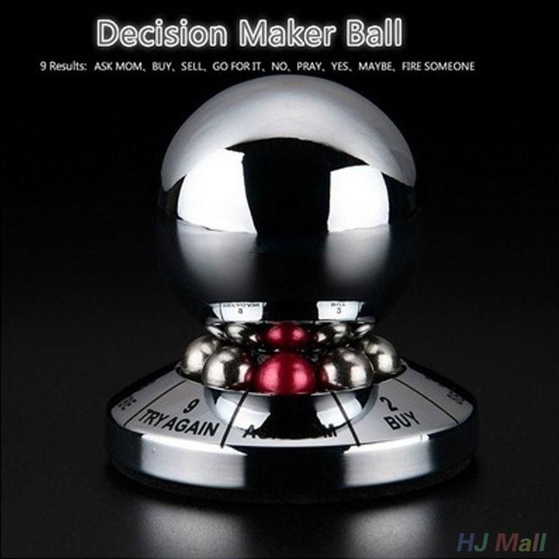 Bola creativa de toma de decisión Bolas Mágicas juguete de exhibición en miniatura