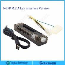 PCIe PCI-E PCI Express Card Laptop EXP GDC Laptop External Independent Video Card Dock  (NGFF M.2 A key interface Version)