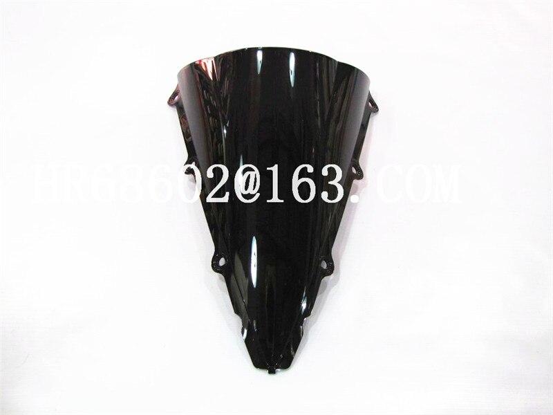 Pare-brise Double bulle pour Yamaha YZF 1000 R1 2002 2003   Pare-brise yzf r1 02 03, promotion noire