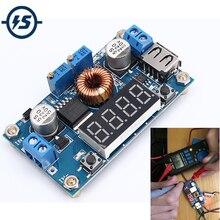 Abaisseur Buck convertisseur alimentation Module carte DC-DC 1.2-32V réglable 5A tension constante courant LCD affichage numérique