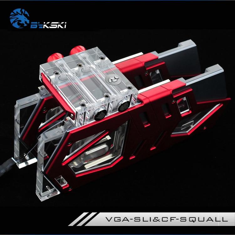 Módulo de conexión Bykski VGA-SLI & CF-SQUALL SLI/CF para bloque GPU
