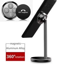 Soporte magnético para teléfono móvil de escritorio para iPhone XS Max XR 6 6s 7 8 X Plus 5 5S 5c Xiaomi Redmi 6 Pro Huawei Mate 20