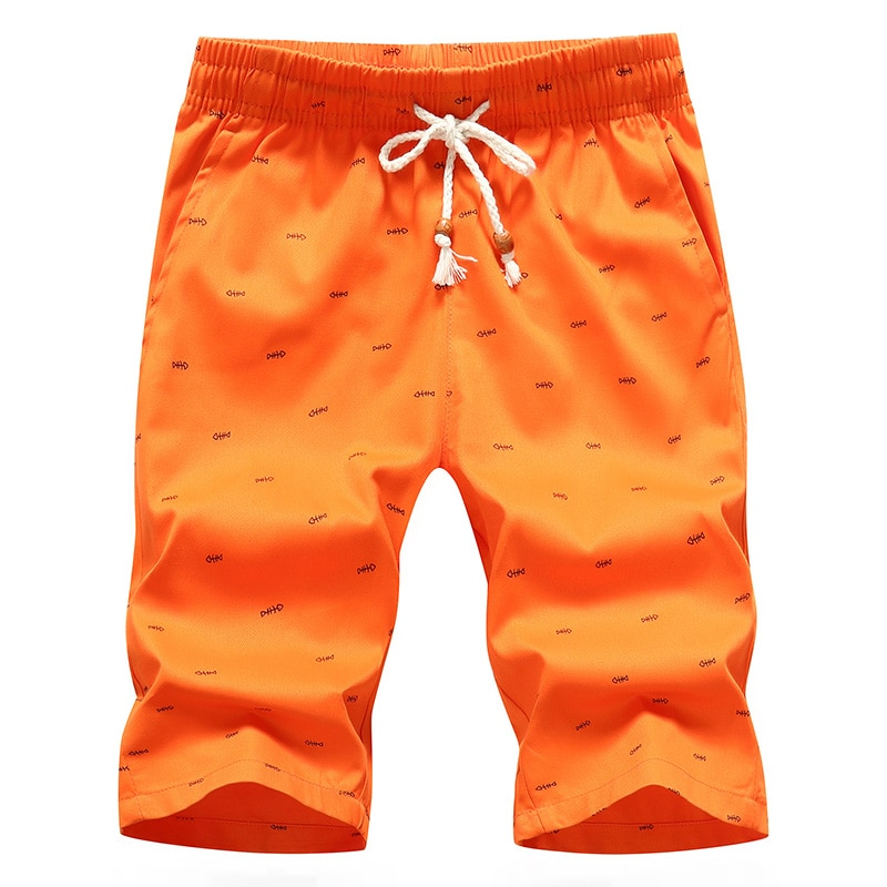 Mens Shorts Summer Beach Cotton Casual Male Homme Bermuda Masculina Plus Size