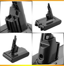 LED 3500mAh For Dyson V7 21.6V Li-ion Battery V7 FLUFFY Extra Mattress Trigger Motorhead Pro Animal Car+Boat