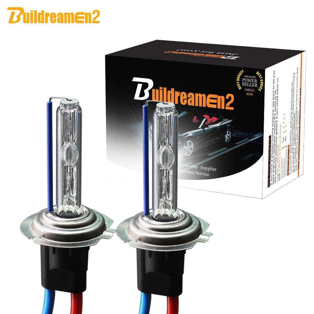 Buildreamen2 H1 H3 H7 H8 H9 H11 9005 HB3 12 55 HB4 880 881 W HID Xenon Lâmpada de 9006 V Do farol Do Carro Fog Lamp 3000K 4300K 6000K 8000K