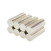 100pcs NdFeB Neodymium Disc Magnet With Diameter 10mm x 1mm N35 Super Powerful Strong Rare Earth NdFeB Magnet N35