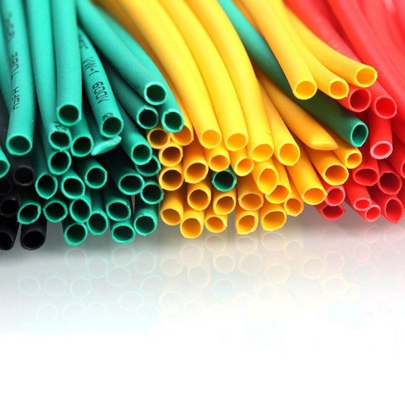 Set de 164 unidades de poliolefina encogimiento surtido de Tubo termorretráctil Cable aislado manguito conjunto de tubos Hogard JU28