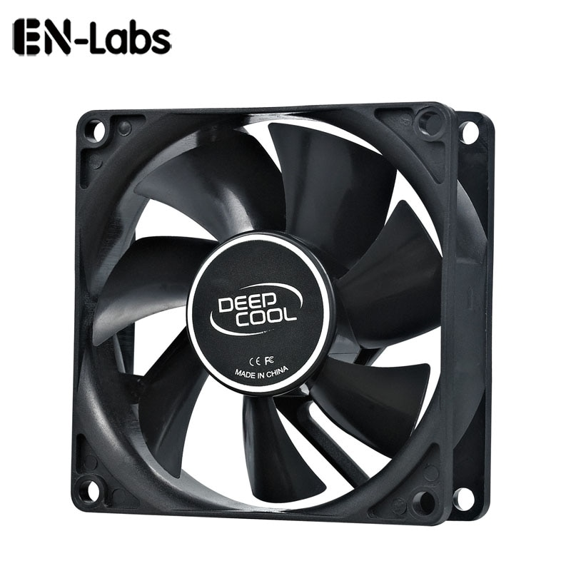3 way pc cooler cooling 3pin fan speed controller for cpu case hdd ddr graphics card w self stick power molex ide 4pin female En-Labs PC Computer 80mm Hydro Bearing 20dBA Ultra Silent Case Fan Heatsink Cooler Cooling,8CM Fan Power by Molex IDE 4pin