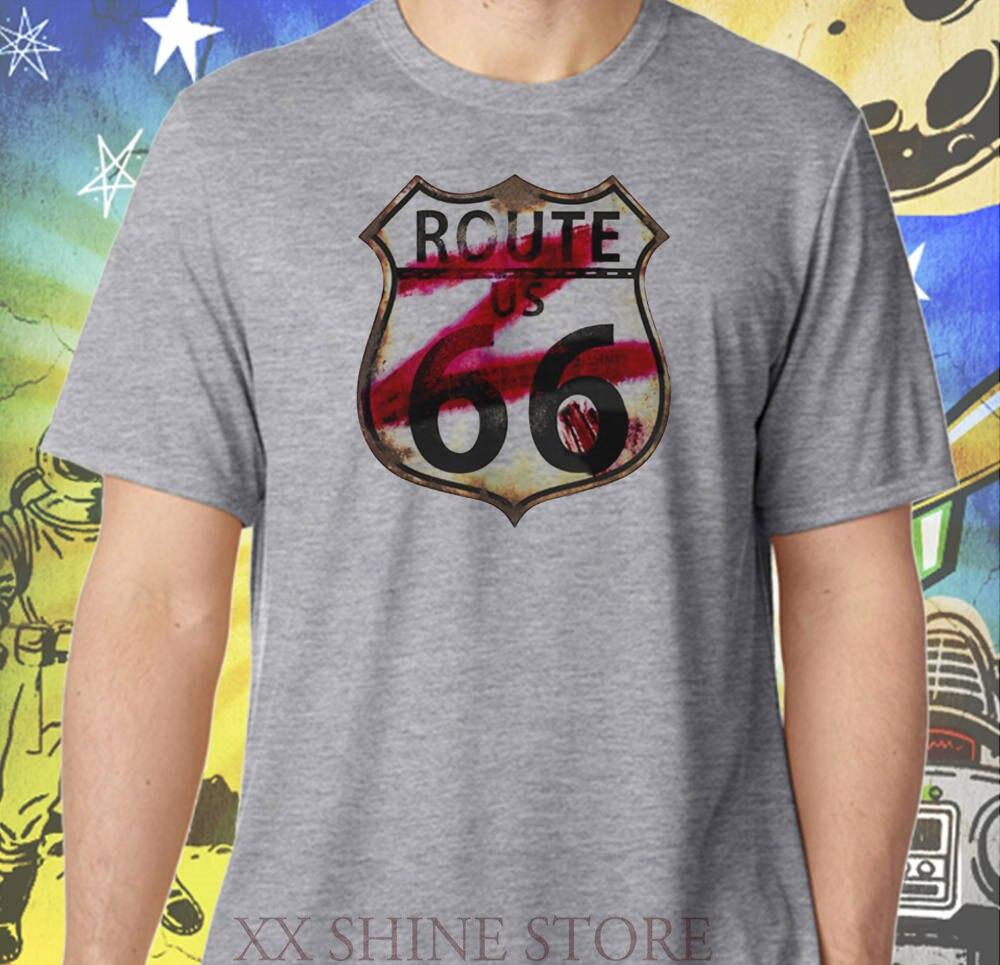 Z nación camisa Ruta 66 z-shield hombres Zombie gris rendimiento Camiseta 100% algodón camiseta hombres mujeres tee