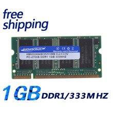 KEMBONA beste auf verkauf 512 MB DDR1 333 PC2700 SODIMM LAPTOP SPEICHER