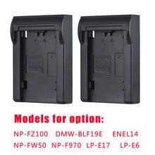 Andoer 2шт NP FZ100/NP FW50 батарея пластина для Neweer Andoer Dual/Four Channel зарядное устройство для Sony A7III A9 A7RIII A7SIII
