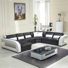 2016 nouveau style canapé moderne ventes chaudes canapé en cuir véritable meubles de salon vente en gros et section canapé design antique