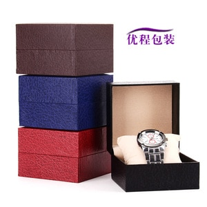 Just Watch The Box Embossed Spot Flip Watch Box Lovers Watch Box High-grade Watch Box