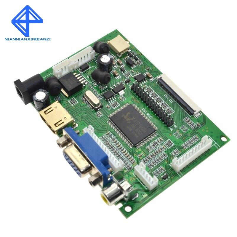 HDMI VGA av-экран модуль дисплея для pcDuino, Banana Pi без cluding 7 дюймов Raspberry Pi IPS LCD
