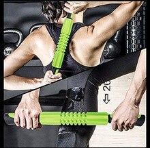 Eua armazém fitness bola massagem vara rolo pernas e volta recuperação dolorido e músculos apertados