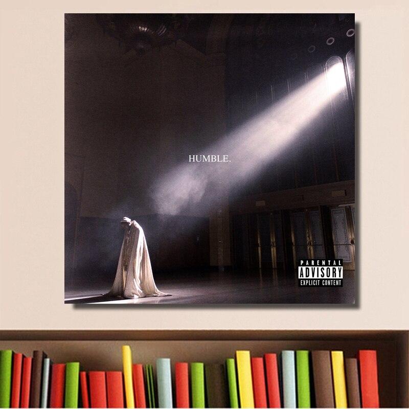 Kendrick Lamar putain affiche 2017 Hip Hop Rap Album couverture affiche impression sur toile décor à la maison mur Art pas de cadre
