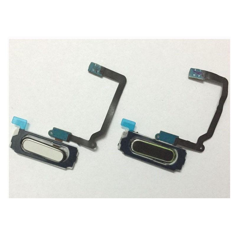 Nuevo Sensor de huella dactilar Inicio tecla de retorno botón de menú flexible Cable de cinta para Samsung Galaxy S5 I9600 G900i G900F G900A G900H G900T