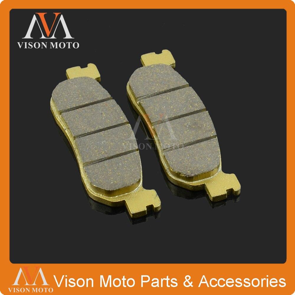 Trasero de la motocicleta pinza de freno pastillas de freno para YAMAHA VP250 07-15 XP250 05-13 YP250 YP250R YP250DX YP400 13 14 YZF600 YZF1000 R1