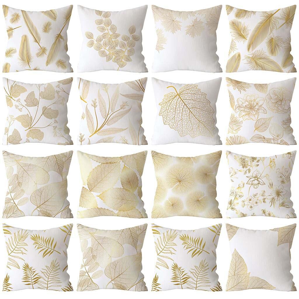 2019 nuevos productos populares Rosa oro Pinkpillow cuadrado almohada decoración del hogar Familia bajo precio de compras