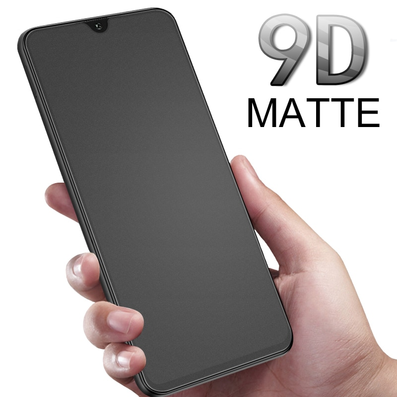 Protective Glass On For Samsung Galaxy A70 A50 A40 M20 Matte Frosted Tempered Glass On A30 A20 M30 Full Cover Glass a 50