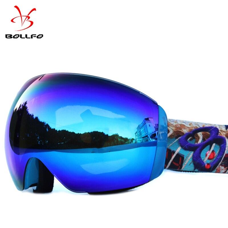 Фото - 2018 Anti-fog big ski goggles double layers UV400 ski mask glasses skiing men women snow snowboard goggles nandn ski goggles double layers uv400 anti fog big ski mask glasses skiing men women snow snowboard goggles ng5
