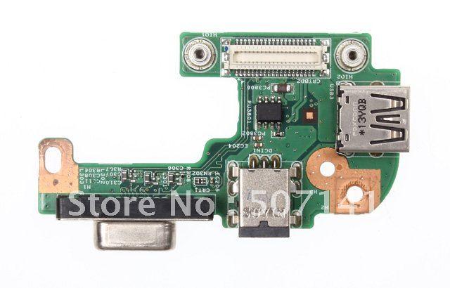Envío Gratis para Dell Inspiron N5110 DN15 AMD CRT DC Jack USB 2,0 VGA Board 48.4IE05.011
